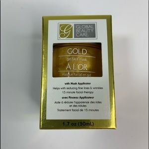 Gold Gel Face Mask Fine Line and Wrinkle Therapy